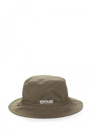 Шляпа Regatta. Цвет: хаки