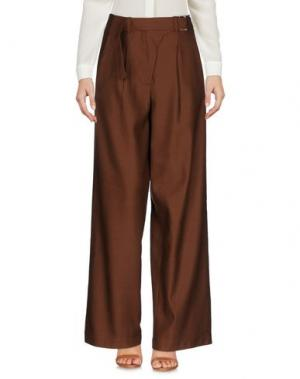 Повседневные брюки TELA. Цвет: какао