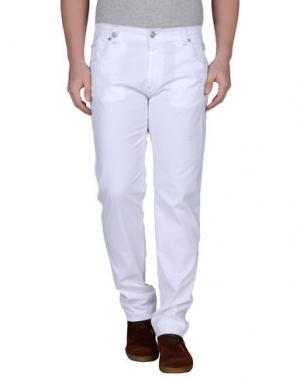 Повседневные брюки NICWAVE. Цвет: белый