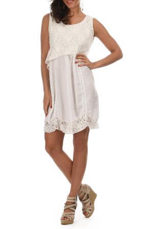 Платье Lila Rose. Цвет: white