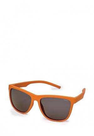 Очки солнцезащитные Polaroid. Цвет: оранжевый