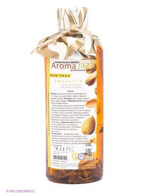 Масло жидкое для тела Амаретто, 350 мл АРОМАДЖАЗ. Цвет: темно-коричневый