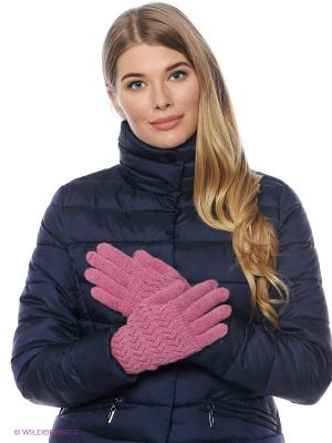 Перчатки FOMAS. Цвет: розовый