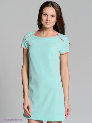 Платье Allezye. Цвет: светло-зеленый