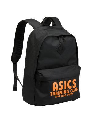 Рюкзак TRAINING ESSENTIALS BACKPACK ASICS. Цвет: черный, светло-оранжевый, оранжевый