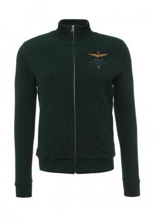 Кардиган Aeronautica Militare. Цвет: зеленый