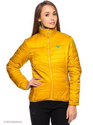 Куртка Salewa. Цвет: желтый