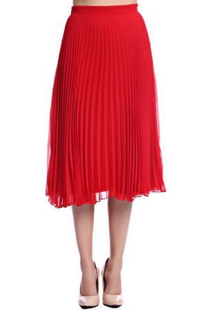 Юбка Emma Monti. Цвет: красный