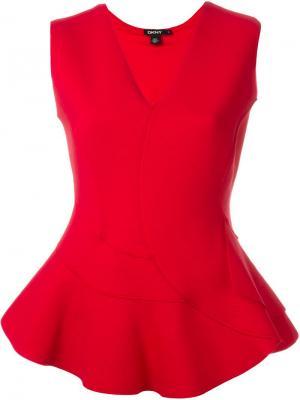 Купить Красную Блузку С Баской