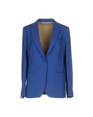 Пиджак AQUILANO-RIMONDI. Цвет: лазурный