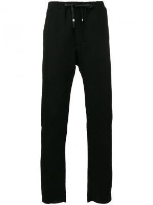 Укороченные спортивные брюки с эластичным поясом Manuel Marte. Цвет: чёрный