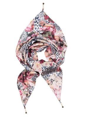 Платок Charmante. Цвет: черный, белый, розовый