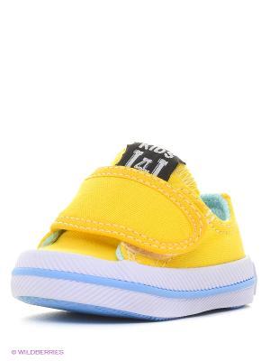 Пинетки 4U. Цвет: желтый