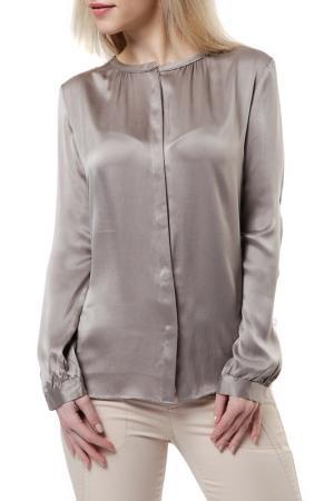 Блузка REPEAT. Цвет: серебряный