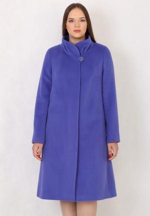 Пальто Trifo. Цвет: фиолетовый