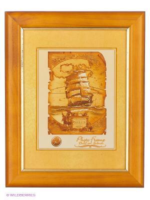 Фоторамка деревянная 15Х20 DeLuxe VELD-CO. Цвет: коричневый