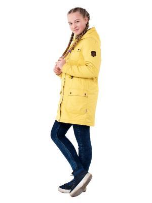 Куртка Ruff Tuff. Цвет: горчичный