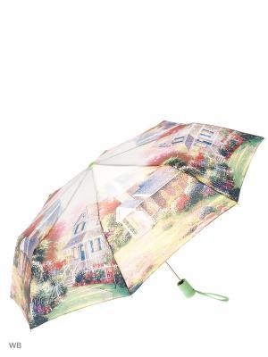 Зонт Magic Rain. Цвет: светло-зеленый, красный, фиолетовый