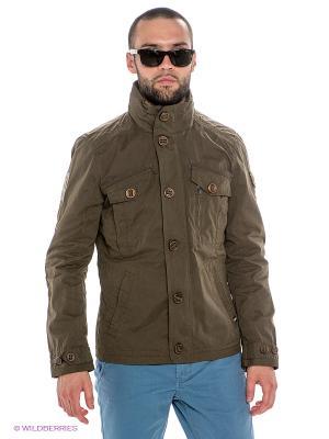 Куртка Dolomite. Цвет: хаки