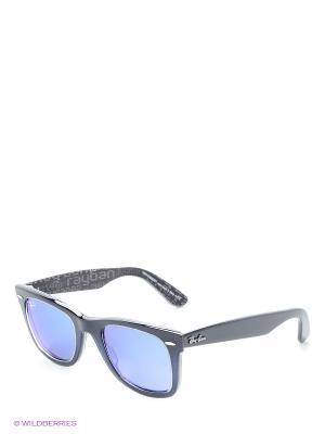 Солнцезащитные очки Ray Ban. Цвет: синий