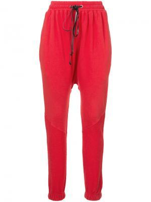 Спортивные брюки Roaming Daniel Patrick. Цвет: красный