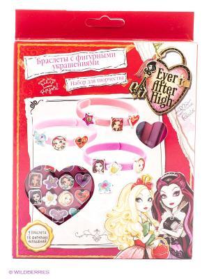Набор для создания украшений браслеты  Ever after high Multiart. Цвет: розовый