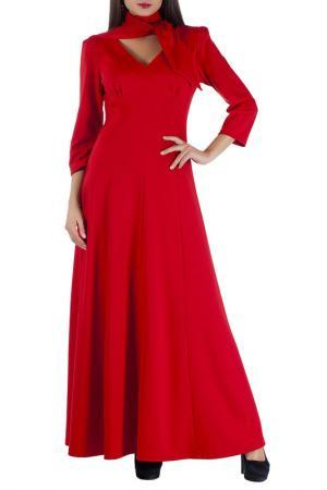 Платье Mannon. Цвет: красный