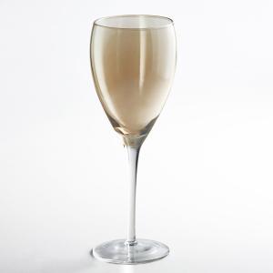 Комплект из 4 бокалов для красного вина, KOUTINE La Redoute Interieurs. Цвет: дымчато-серый,янтарь