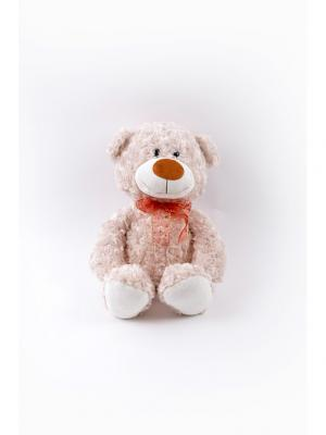 Мягкая игрушка Медвежонок Ник Malvina. Цвет: персиковый