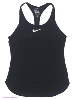 Топ SLAM TANK YTH Nike. Цвет: черный
