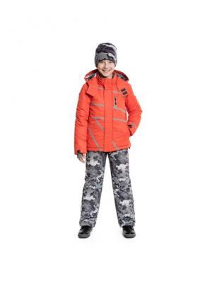 Куртка S`Cool. Цвет: оранжевый