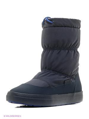 Сапоги CROCS. Цвет: темно-синий