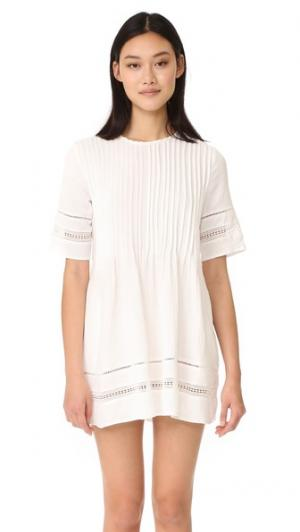 Платье Phillips Knot Sisters. Цвет: оттенок белого