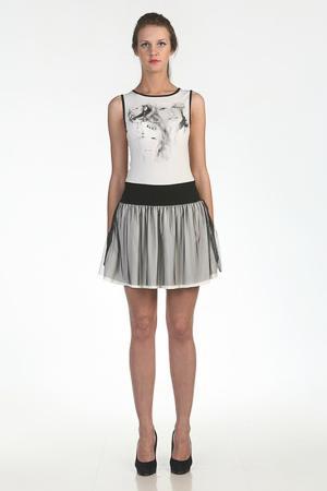 Платье Borodulins Borodulin's. Цвет: молочный