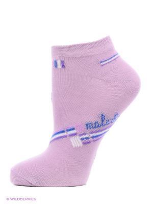 Носки Malerba. Цвет: фиолетовый, бирюзовый, розовый