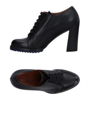 Обувь на шнурках ZAMAGNI. Цвет: черный