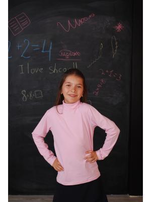 Водолазка ZEBRA KIDS. Цвет: розовый