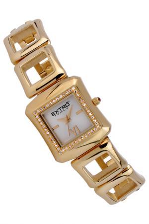 Наручные часы Extro. Цвет: золотой