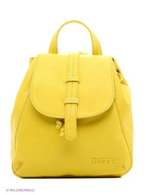 Рюкзак Duffy. Цвет: желтый