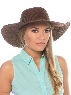 Шляпа Mascotte. Цвет: коричневый