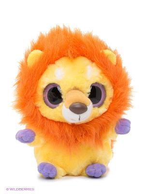 Юху и друзья Игрушка мягкая Лев Aurora. Цвет: оранжевый, желтый, сиреневый