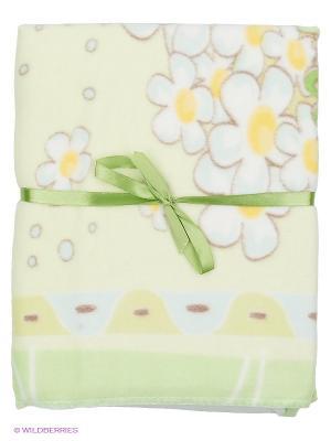 Одеяло Baby Nice. Цвет: светло-зеленый, желтый