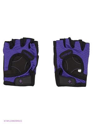 Перчатки для фитнеса женские FlexFit HARBINGER. Цвет: черный, сиреневый