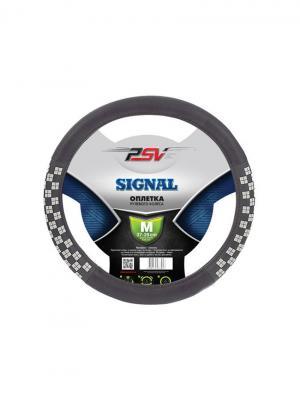 Оплётка на руль PSV SIGNAL (Черный) M. Цвет: черный