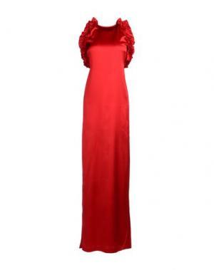 Длинное платье LEITMOTIV. Цвет: красный