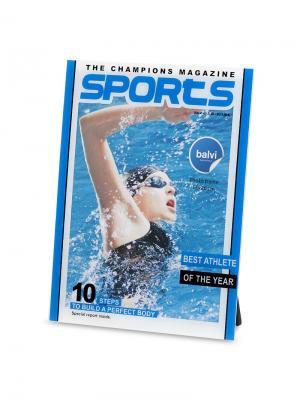 Фоторамка Sports 15x20 Balvi. Цвет: синий