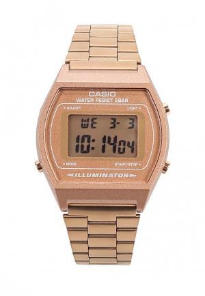 Часы Casio. Цвет: золотой