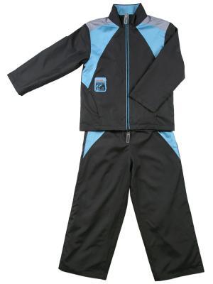 Комплект (куртка, брюки) ВЕНЕЙЯ. Цвет: серый