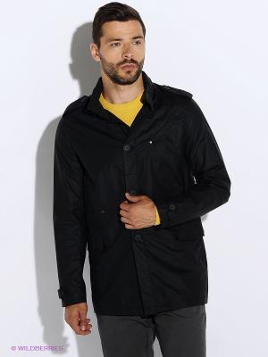 Куртка Oodji. Цвет: черный