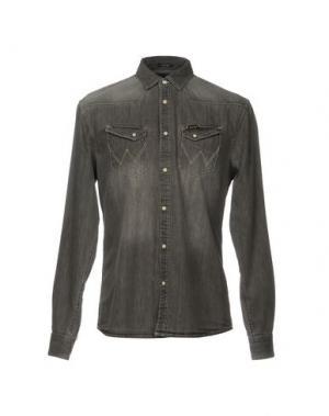 Джинсовая рубашка WRANGLER. Цвет: серый
